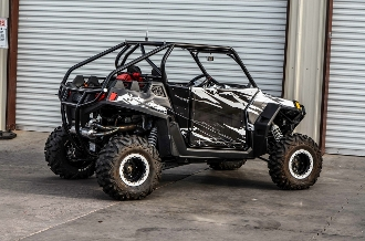 Tmw Offroad Intimidator Chop Top Cage For The Polaris
