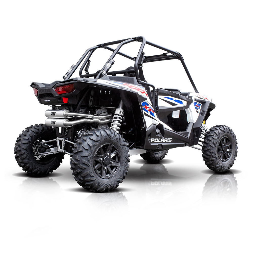 hmf exhaust polaris rzr 1000 xp performance series. Black Bedroom Furniture Sets. Home Design Ideas