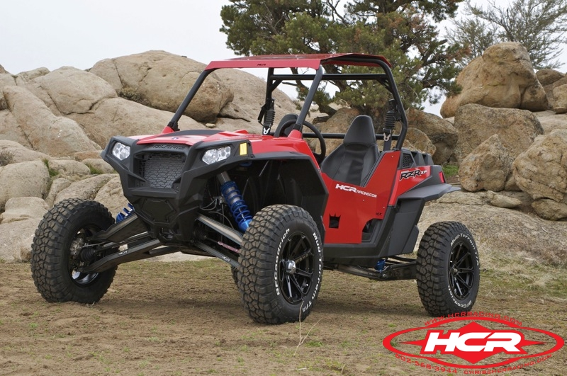 Hcr Polaris Rzr Xp 900 Long Travel Suspension Kit 187 Bad
