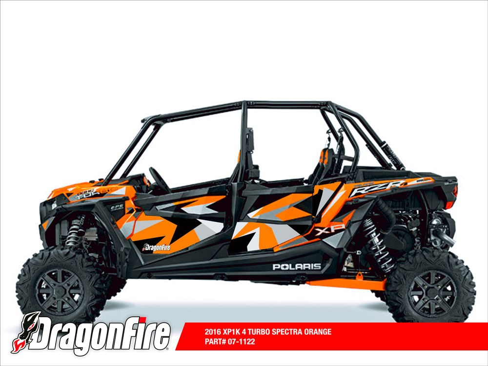 dragonfire racing 4 seat door panel graphics rzr xp 4 1000 bad motorsports inc. Black Bedroom Furniture Sets. Home Design Ideas