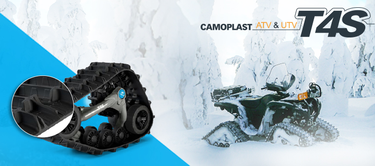 CAMOPLAST / CAMSO - ATV T4S Track System For Polaris