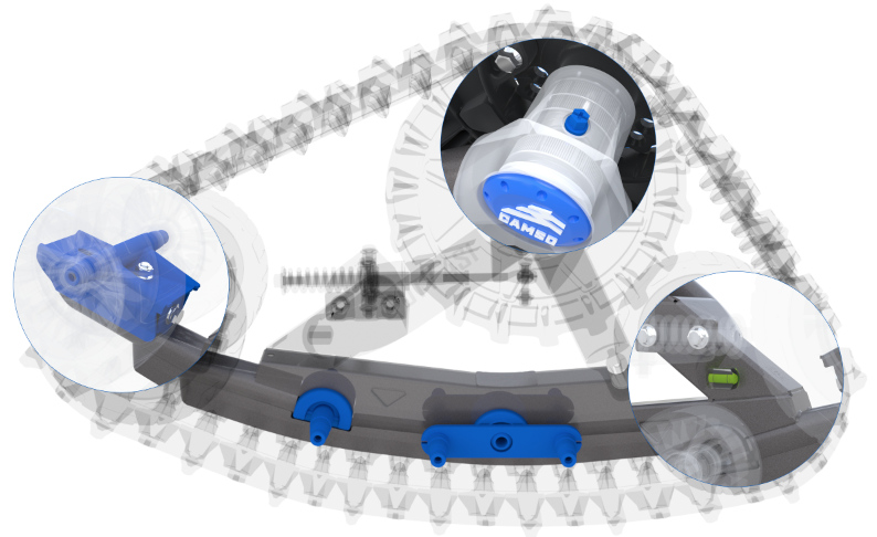 Camoplast Camso Utv 4s1 Track System For Polaris