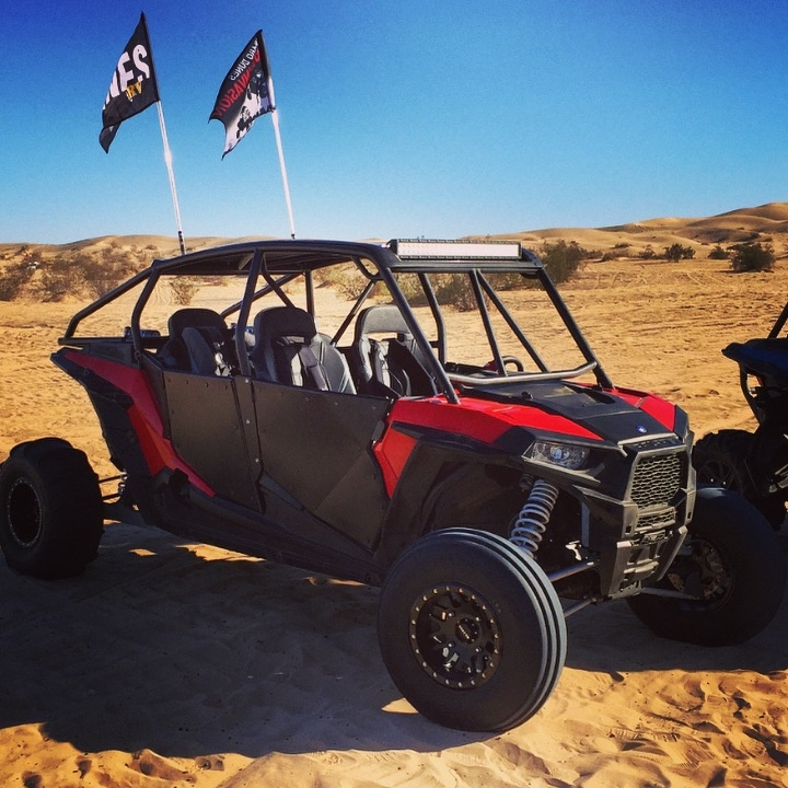 Dirt engineered polaris rzr 4 1000 doors bad for 1000 door