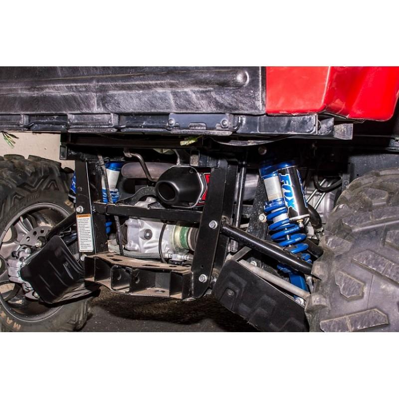 Big Gun Exhaust Yamaha Rhino 700 Efi Exo Series Slip On Bad