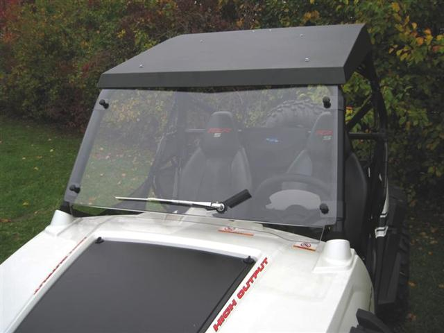 Emp Rzr Hard Coat Cooter Brown Windshield 187 Bad