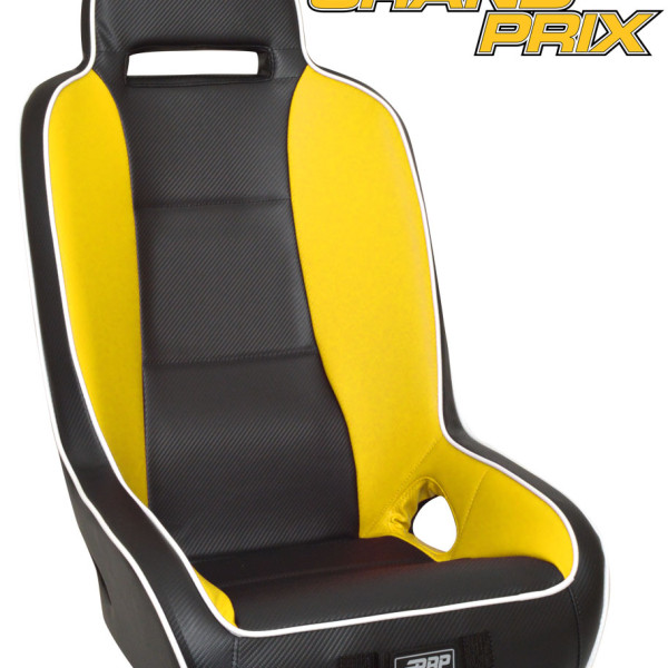 prp grand prix seats for can am commander maverick pair bad motorsports inc. Black Bedroom Furniture Sets. Home Design Ideas