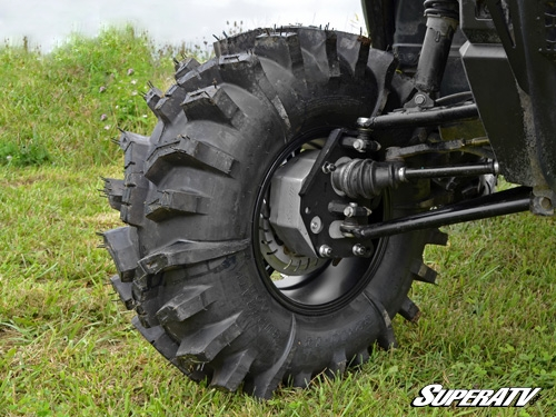 how to put nut back on ball joint polaris atv