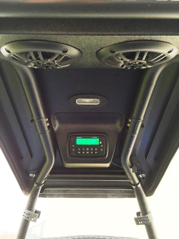 Emp polaris ace cooter brown top and overhead stereo for Ace motor sales inc