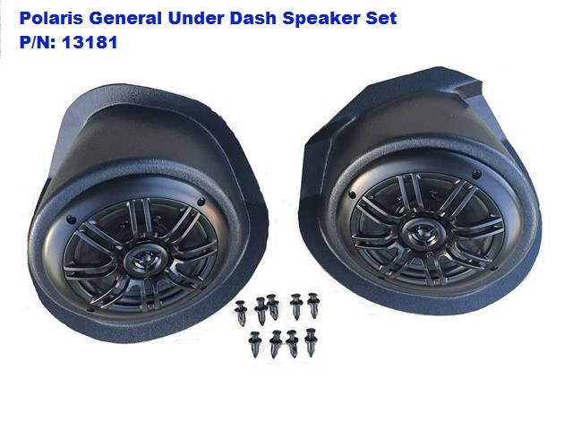 EMP - Polaris General Under-Dash Speaker Pods (Speakers Included)