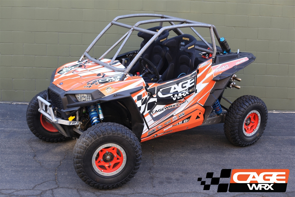 Cage Wrx Rzr Xp1000 Super Shorty Cage Assembled 187 Bad