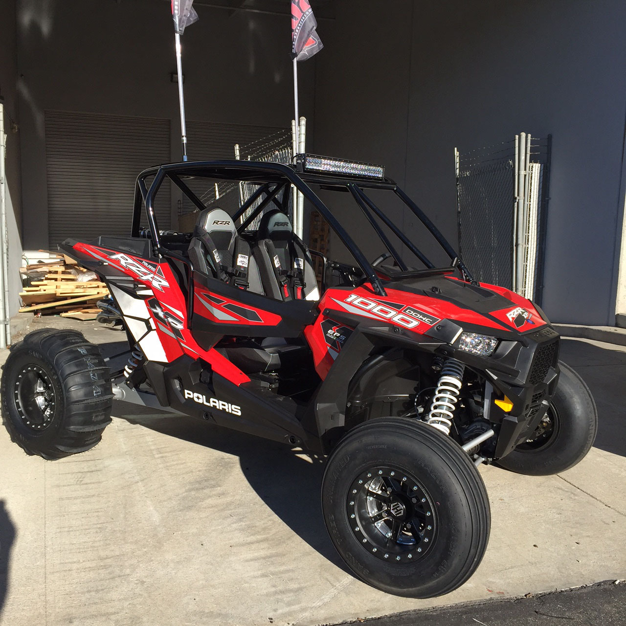 XPR-2 Shorty Cage For Polaris RZR XP 4 1000 » Bad