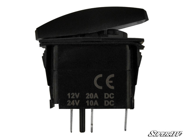 SuperATV 12V/20A Off-Road Rocker Switches