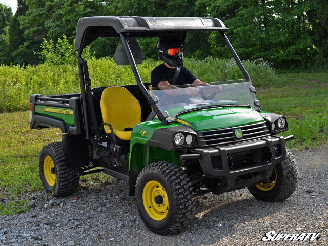 superatv john deere gator scratch resistant half. Black Bedroom Furniture Sets. Home Design Ideas