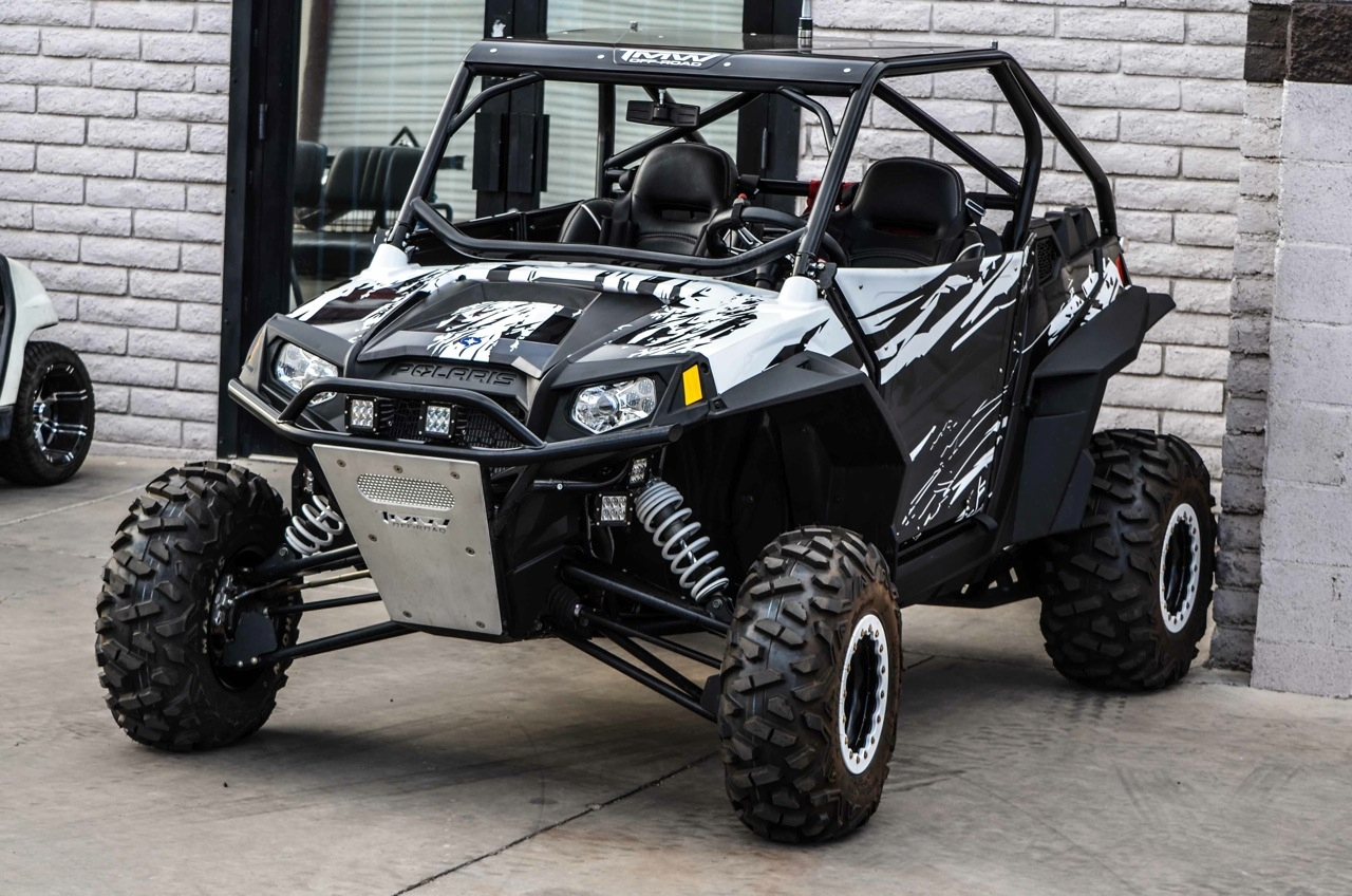 TMW Offroad – Intimidator CHOP-TOP Cage for the Polaris RZR 900 XP