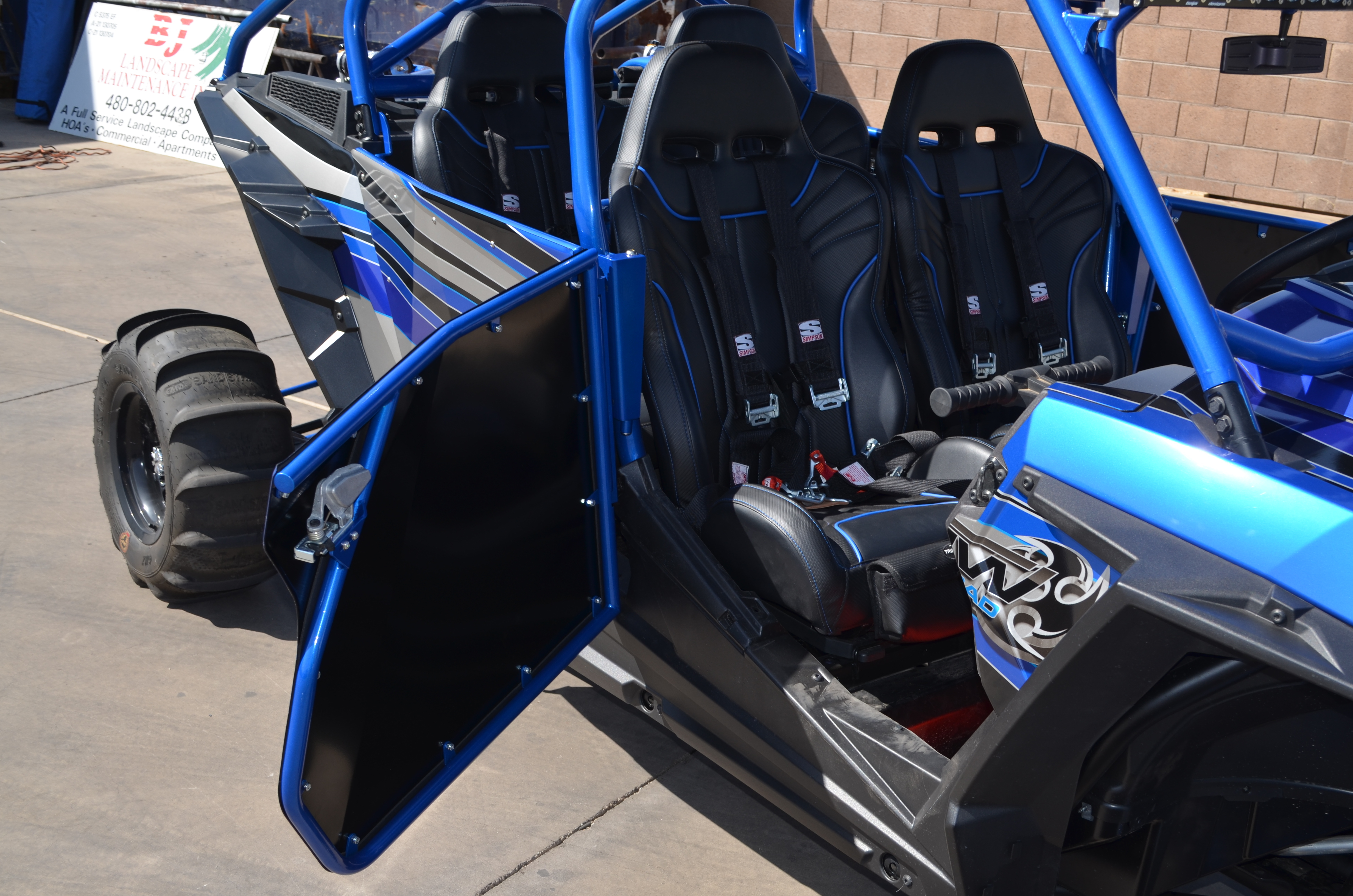 Tmw Offroad Sidewinder Doors For Polaris Rzr Xp 4 1000