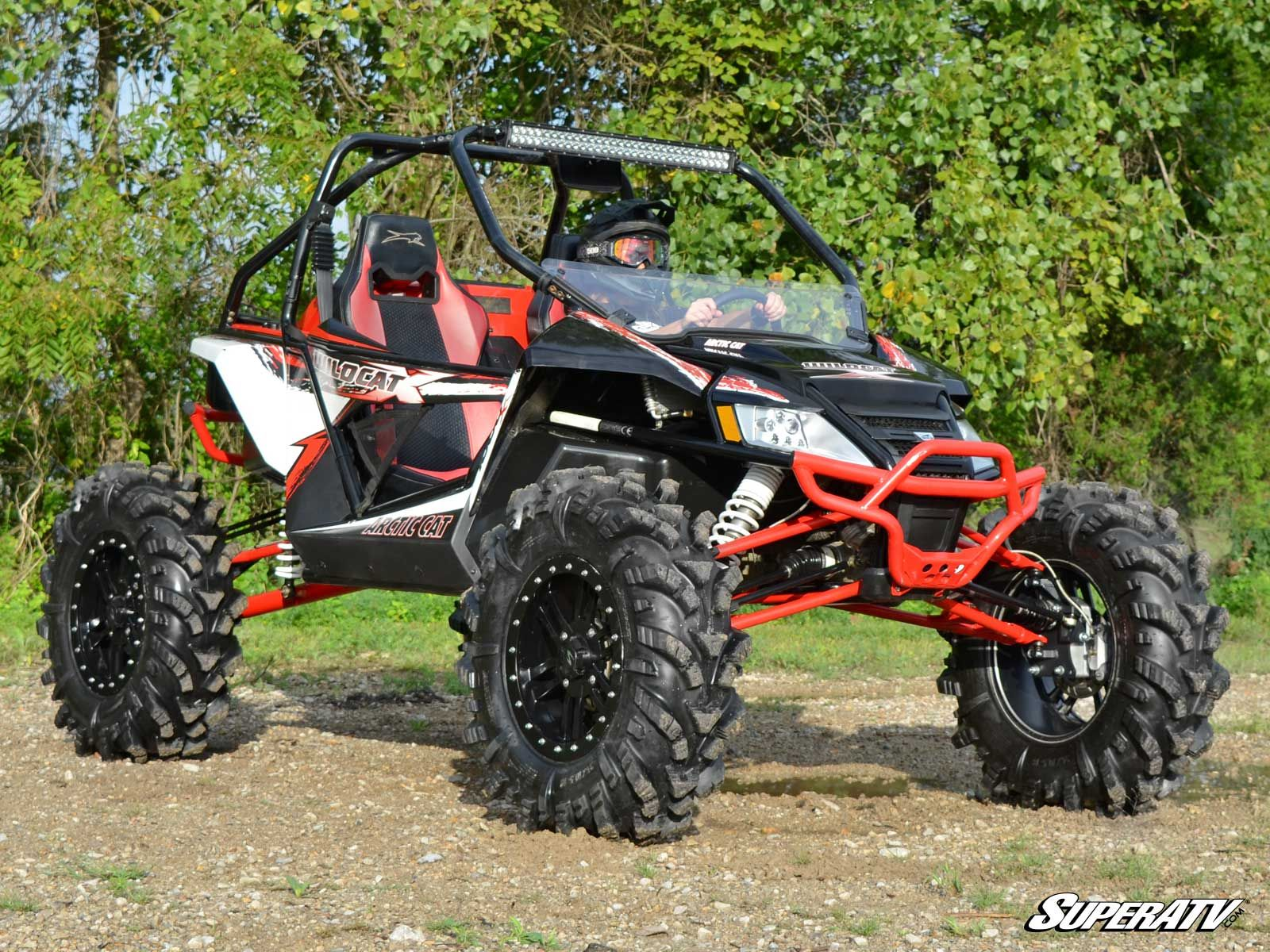 Lifted Arctic Cat