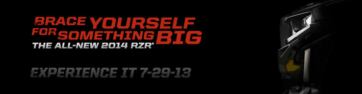 2014 Polaris RZR Is Coming…