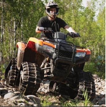 CAMOPLAST / CAMSO - ATV T4S Track System For Arctic Cat