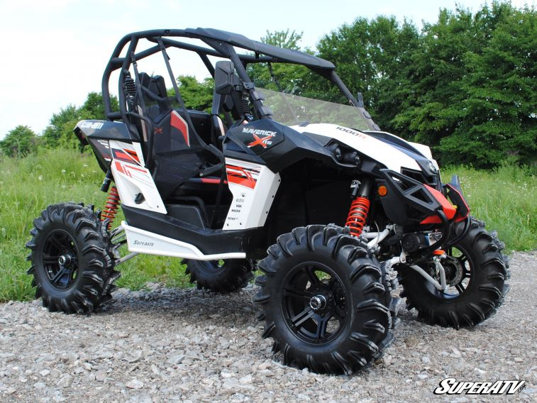 SuperATV - Can-Am Maverick Half Windshield