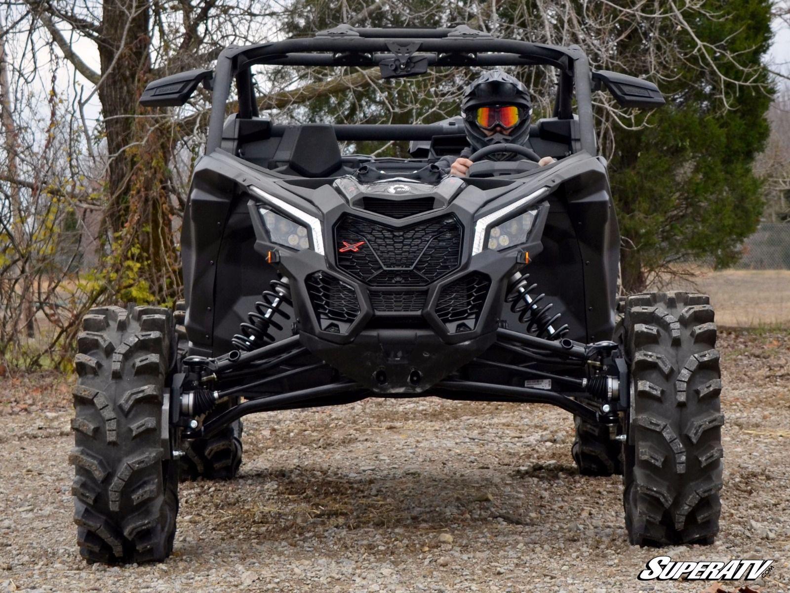 Superatv Can Am Maverick X3 4 Portal Gear Lift 187 Bad