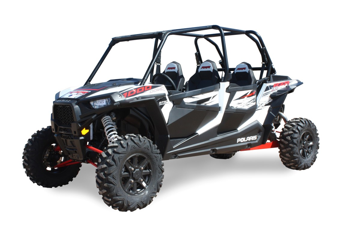 dragonfire racing 4 seat pursuit door inserts for polaris rzr bad motorsports inc. Black Bedroom Furniture Sets. Home Design Ideas