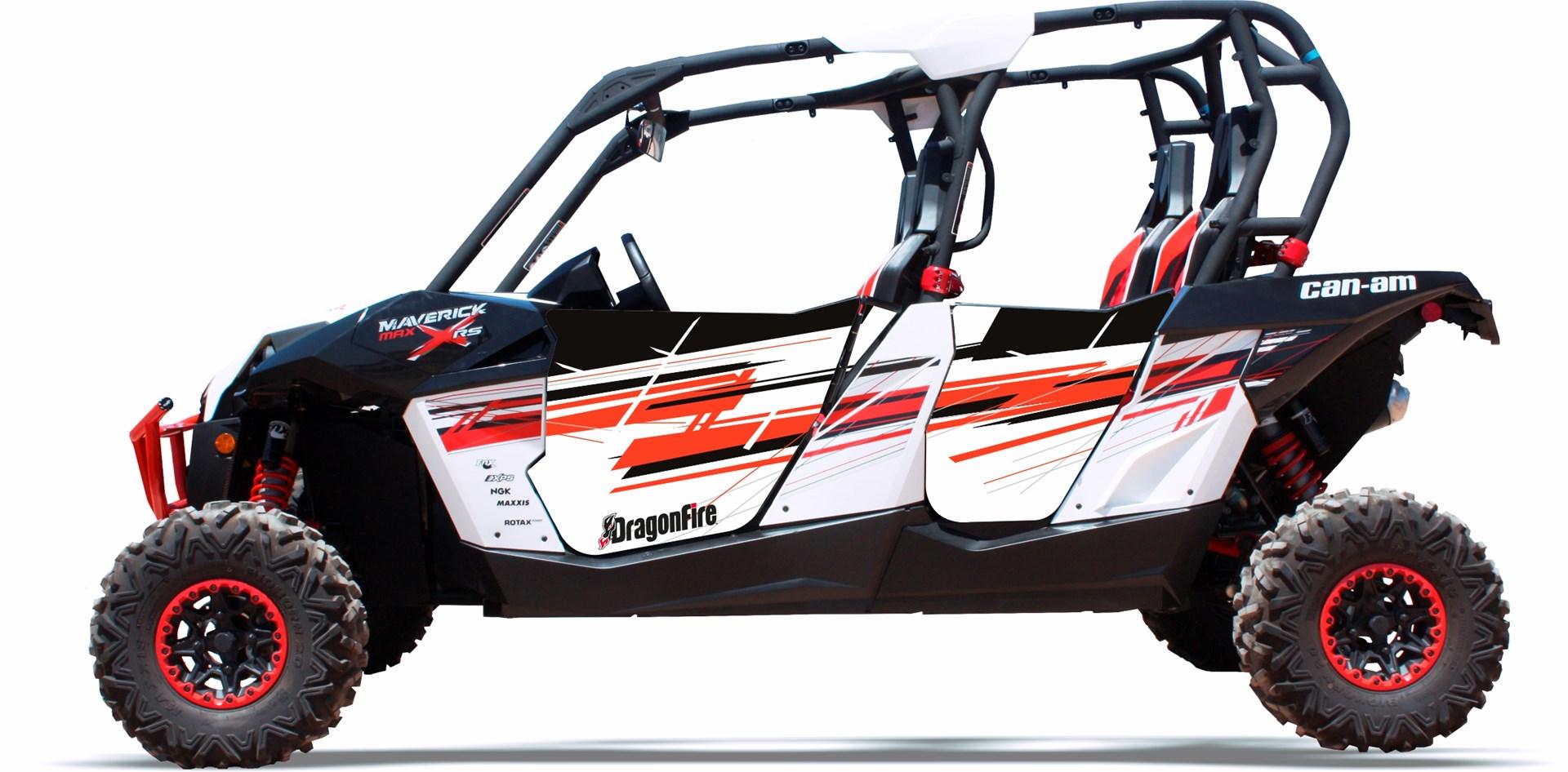 DragonFire ...  sc 1 st  Bad Motorsports Inc. & DragonFire Racing \u2013 (4 Seat) Pursuit Door Graphics Can-Am » Bad ...