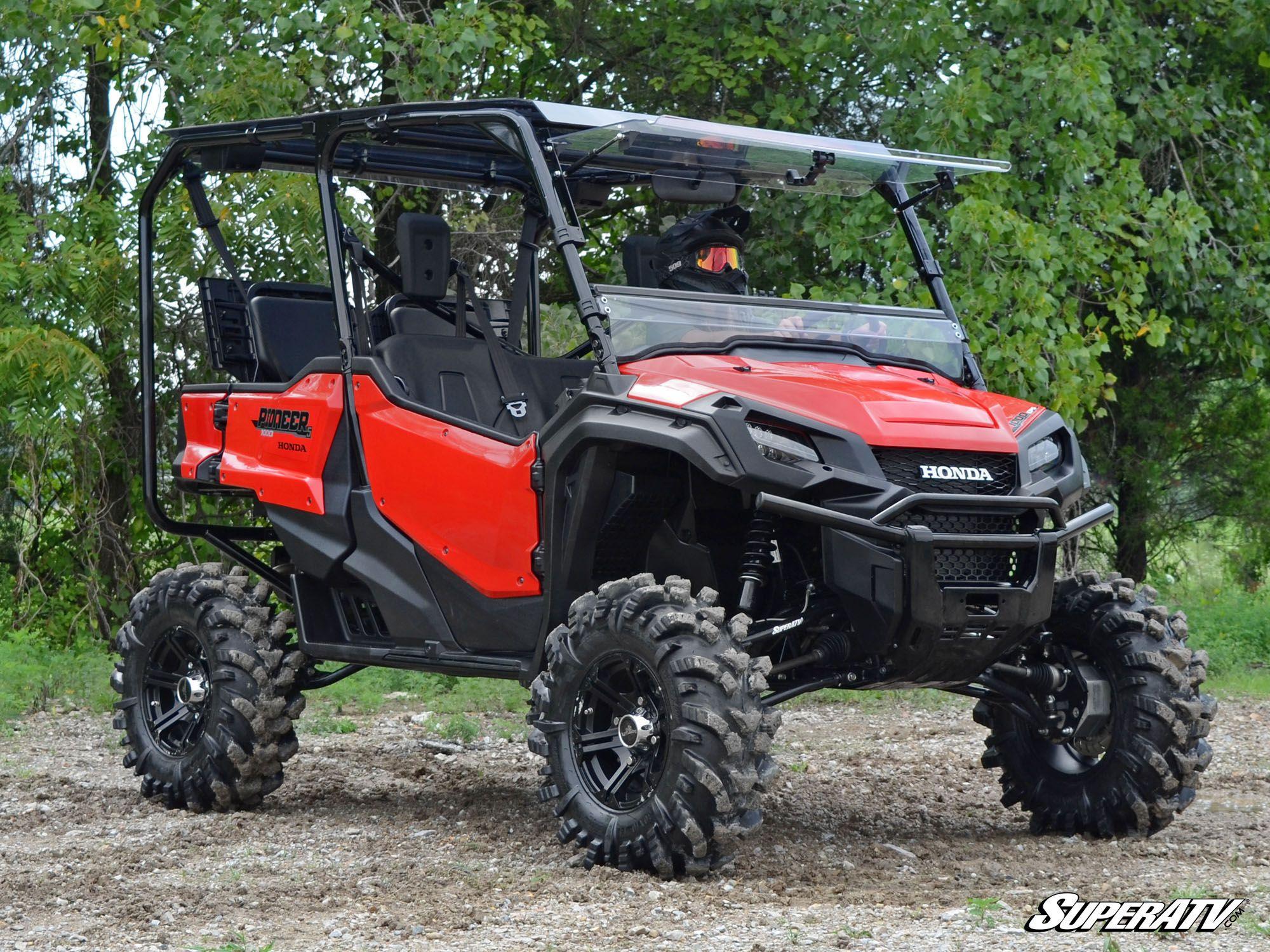 superatv  u2013 honda pioneer 1000 4 u2033 portal gear lift  u00bb bad