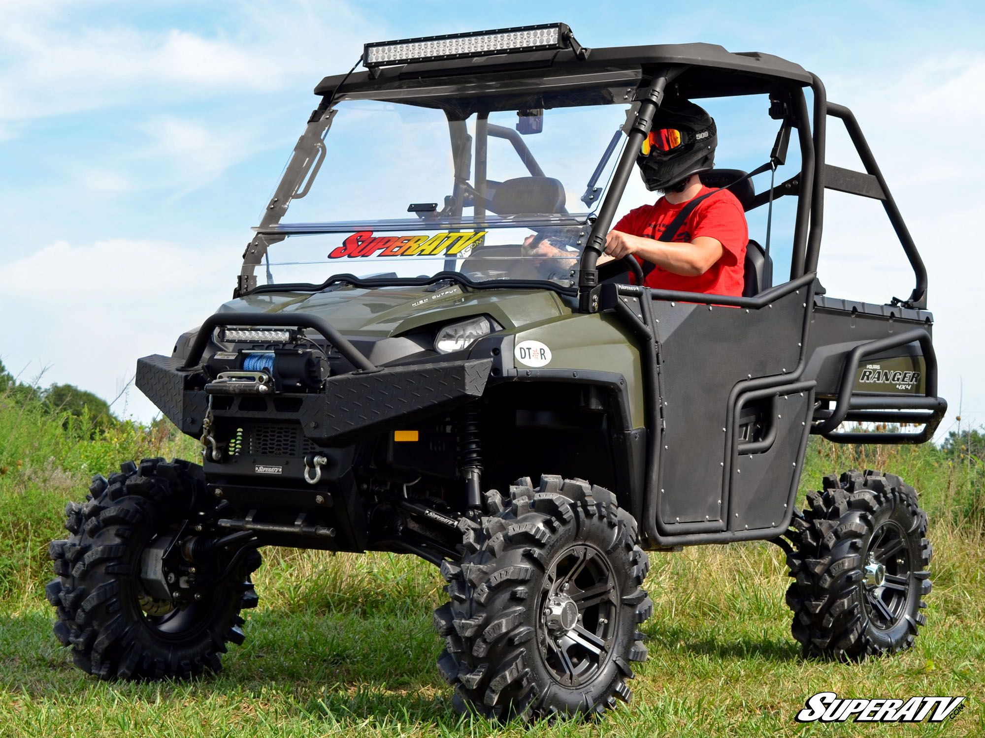 Superatv Polaris Ranger Fullsize 800 Portal Gear Lifts
