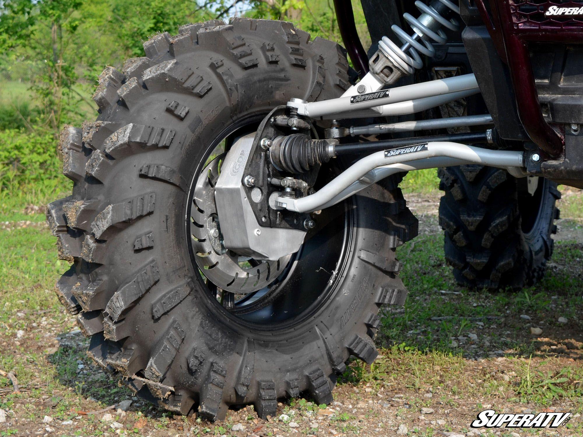 Atv Turbo Kit : Superatv polaris rzr xp turbo ″ portal gear lift bad