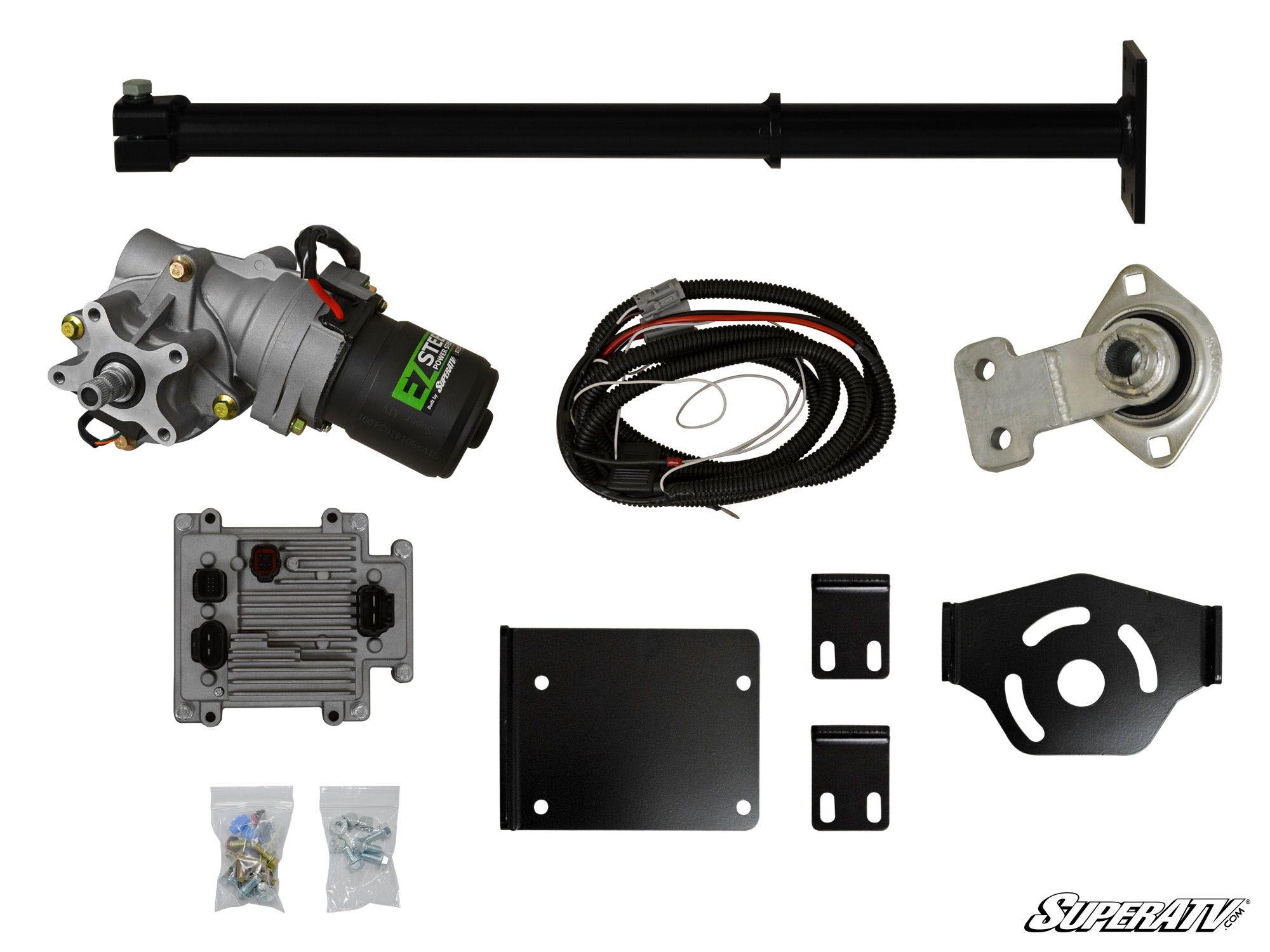 superatv polaris sportsman xp scrambler power steering kit  polaris power steering wiring harness #14
