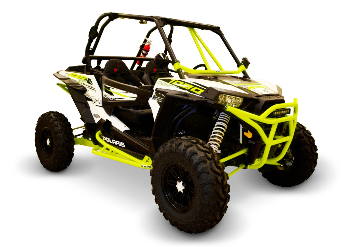 Dragonfire Racing Racepace Nerf Bars For 2 Seat Polaris