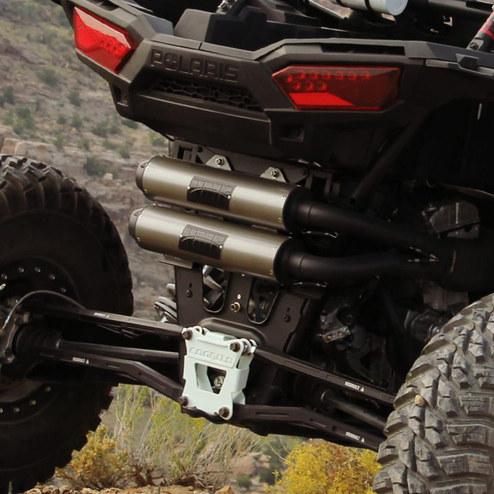 HMF Exhaust - Polaris RZR 1000 XP 4 Performance Series Exhaust System