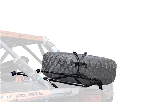 CAGE WRX - RZR XP 1000/TURBO S SPARE TIRE CARRIER - STANDARD
