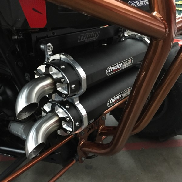 Trinity Racing - Polaris RZR XP1000 STAGE 5 DUAL EXHAUST SYSTEM